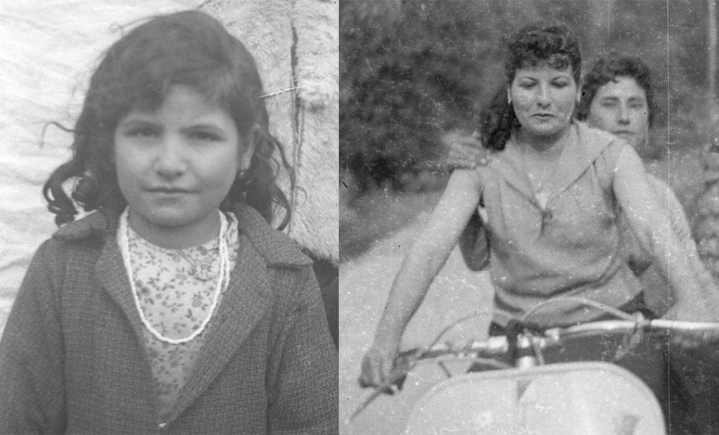 Fernanda da bambina e adolescente
