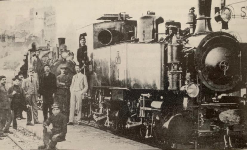 Foto del treno Amandola - Porto San Giorgio del 1908